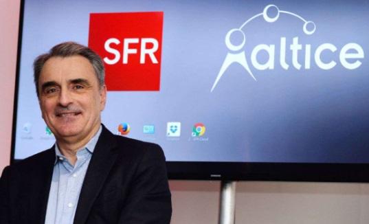 Michel apulin le directeur general de SFR