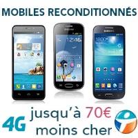 Mobile reconditionnés à prix exceptionnels chez Bouygues Telecom