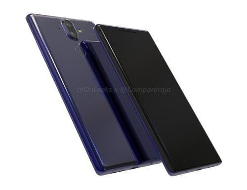 L'écran borderless du Nokia 9 fuite sur la toile
