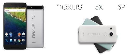 Commercialisation imminente des 2 derniers smartphone Nexus de Google