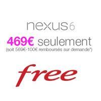 free mobile bon plan nexus 6