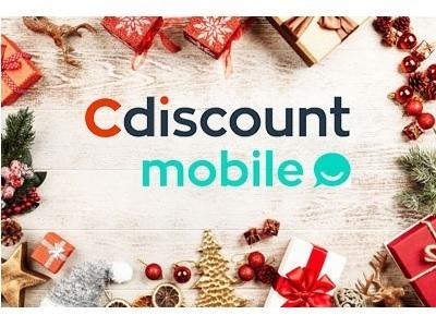 Forfait pas cher : la promo Cdiscount Mobile 30Go à 2.99 euros par mois