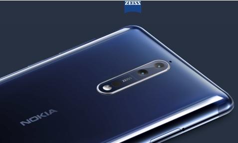 Nokia vue de dos avec appareil photo Zeiss
