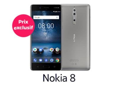 Soldes : Le Nokia 8 à prix exclusif chez Cdiscount