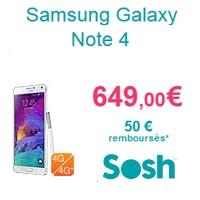 le-samsung-galaxy-note-4-au-meilleur-prix-chez-sosh-avec-un-forfait-sans-engagement