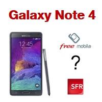Baisse de prix sur le Samsung Galaxy Note 4 chez Free Mobile et RED, où l'acheter ?