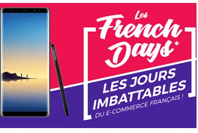 French Days : le Samsung Galaxy Note 8 à 633€ chez Cdiscount