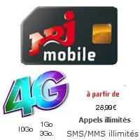 forfaits 4g NRJ Mobile
