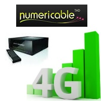 numericable 4G service TV