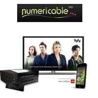 numericable  forfait 4g offert avec les offres fibres Power 4 et Family 4