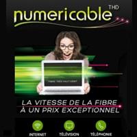 Numericable : Les promotions sur les offres Fibres valables jusqu'à ce soir minuit !