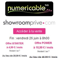 vente priv e la fibre de numericable partir de par mois sur. Black Bedroom Furniture Sets. Home Design Ideas