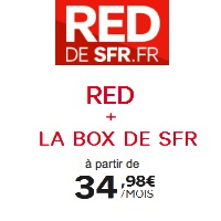 forfaits mobiles red SFR