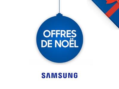 Offres de Noël Samsung