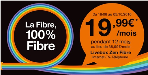 internet les offres livebox fibre orange en promo partir de euros. Black Bedroom Furniture Sets. Home Design Ideas