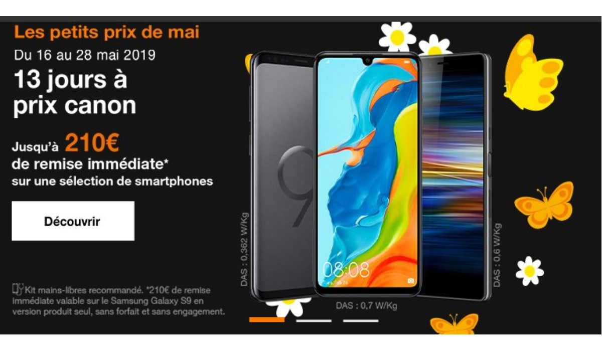 visuel promo smartphone orange