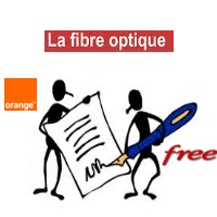 orange er free ont conclu un accord fibre optique