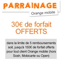orange parrainage mobile
