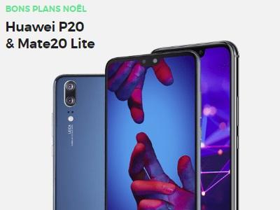Huawei P20 et Mate 20 Lite à prix réduit