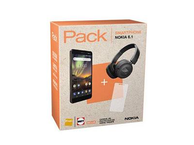 Bonne affaire : Le Nokia 6.1 à 229 euros avec un casque JBL offert chez Darty