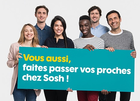 Parrainage SOSH et code PROMOSOSH, la marque d'Orange met le paquet pour attirer de nouveaux abonnés