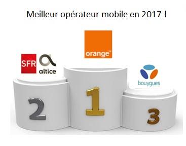4gmark orange lu meilleur op rateur mobile de l ann e 2017 free mobile dernier. Black Bedroom Furniture Sets. Home Design Ideas