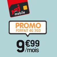 NRJ Mobile : Forfait illimit� + 3Go � 9.99� pendant 6 mois !