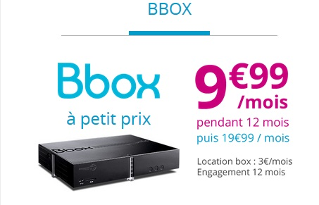 Promo bouygues mobile