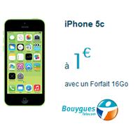 Remises exceptionnelles sur iPhone 5C et iPhone 4S chez Bouygues Telecom