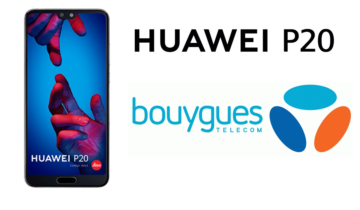 Bon Plan soldes : le Huawei P20 à 279 euros chez Bouygues Télécom