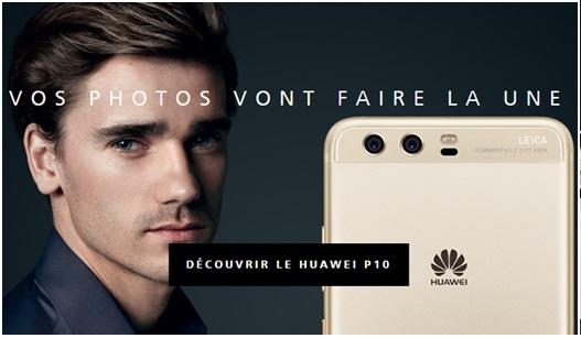 La remise jusqu'à 100 euros sur le Huawei P10, Mate 9, Nova...chez RED By SFR à saisir rapidement