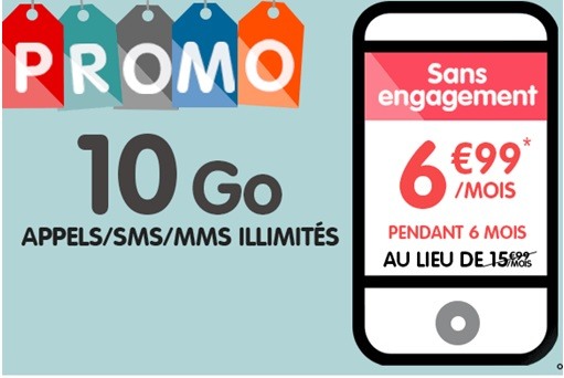 nouvelle promo nrj mobile le forfait illimit 10go euros par mois. Black Bedroom Furniture Sets. Home Design Ideas