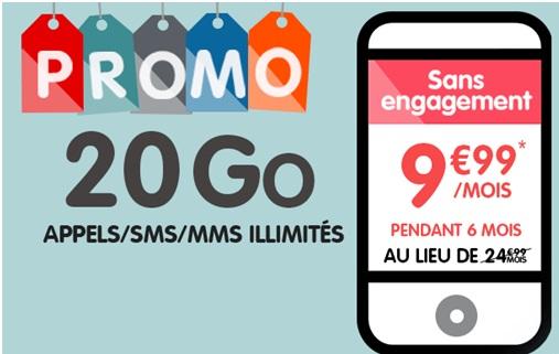 nrj mobile forfait woot promo