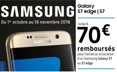 Bon plan du week-end : le Samsung Galaxy S7 à 249€ chez Cdiscount