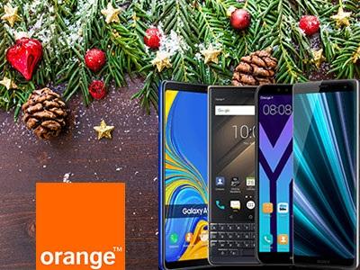 Noël : Les bons plans Smartphones sans abonnement chez Orange