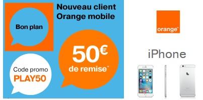 Bon plan : 50€ de remise sur votre iPhone avec un forfait Origami Play Orange !