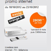 orange internet promotion 5euros liveboxzen