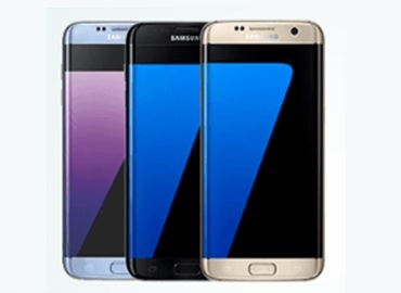 Samsung Galaxy S7 edge vue de face