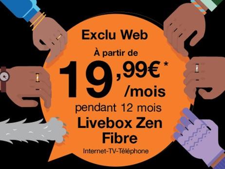 orange prolonge les promos sur ses offres livebox fibre partir de euros. Black Bedroom Furniture Sets. Home Design Ideas