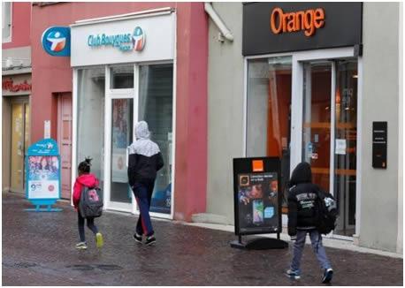 agences orange et bouygues telecom