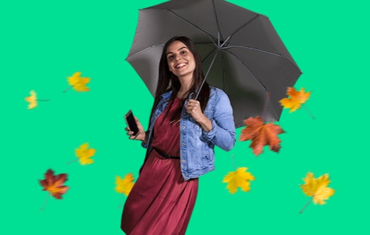 Promotions mobiles d'automne chez RED by SFR