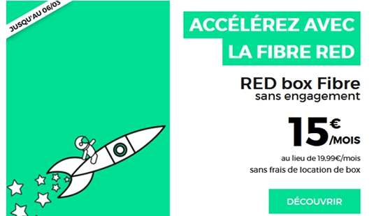 bon plan red by sfr à 15 euros