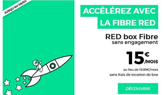 bon plan red by sfr à 15 euros