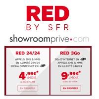 vente priv e red by sfr deux forfaits illimit s prix cass s pendant 12 mois. Black Bedroom Furniture Sets. Home Design Ideas