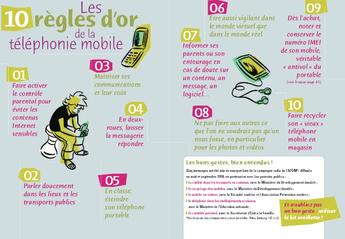 téléphone mobile ado
