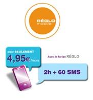 Leclerc Mobile devient Réglo Mobile et lance un forfait 2H et 60 SMS