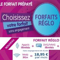 Découvrez les nouvelles offres Réglo Mobile