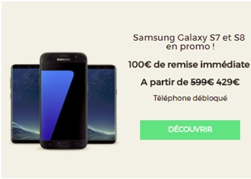 Opération Samsung red by sfr