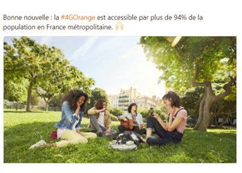 Orange carte couverture 4G