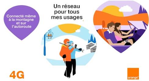 Orange réseau 4G